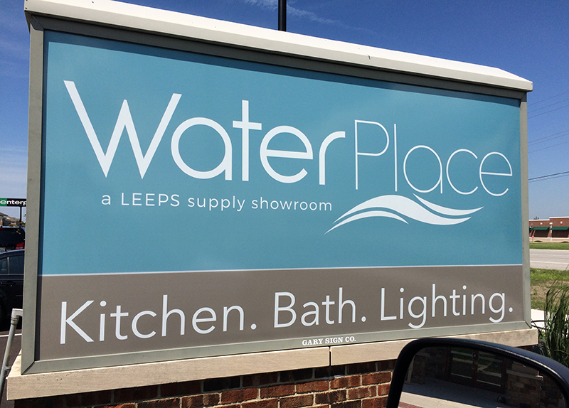 Exterior Signage Leeps Supply Waterplace Nwi Print