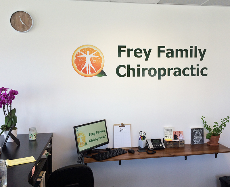 Interior Decor Frey Family Chiropractic Nwi Print Pro