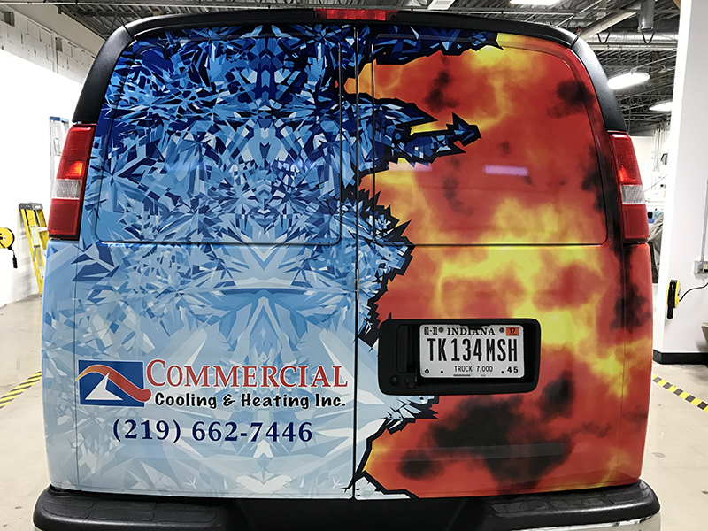 Vehicle Graphics Commercial Cooling Amp Heating Nwi
