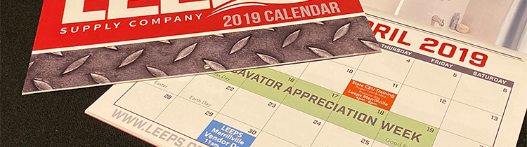 Custom calendars printed by great print shop in Merrillville.